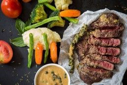 saber el punto de cocción de la carne