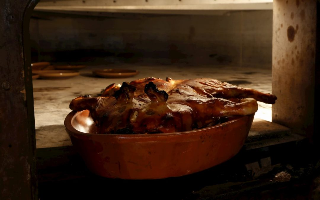 Cochinillo al horno Casa Emiliana