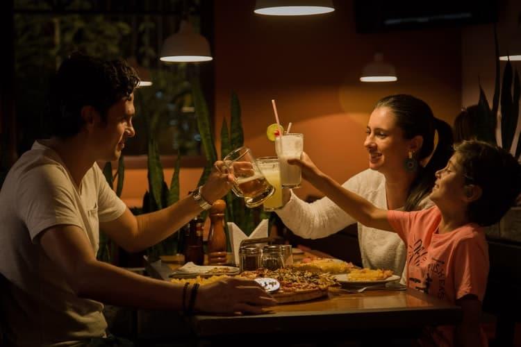 restaurante para comuniones Casa Emiliana