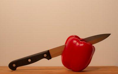 Tipos de corte con cuchillo: las diferentes técnicas de corte