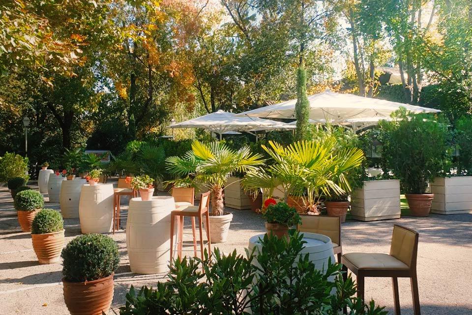 terraza para comer y tapear de casa emiliana