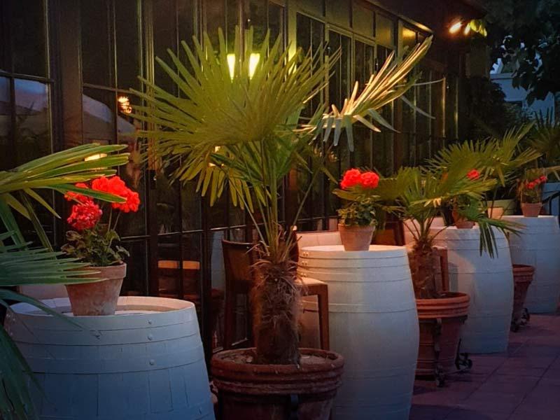 Cenas con música en Casa emiliana